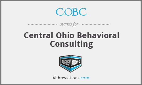 What does COBC stand for?