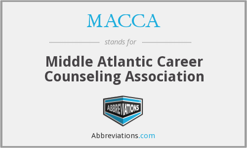 MACCA - Middle Atlantic Career Counseling Association
