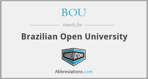 BOU - Brazilian Open University