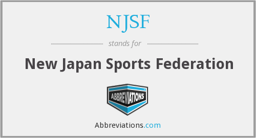 What does NJSF stand for?