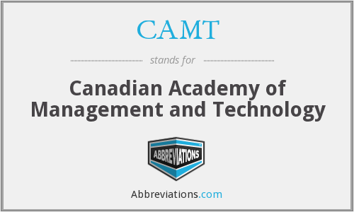 What does CAMT stand for?