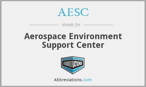 AESC - Aerospace Environment Support Center