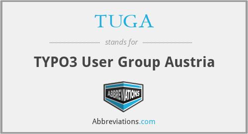 TUGA - TYPO3 User Group Austria