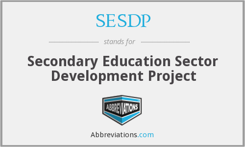 What does SESDP stand for?