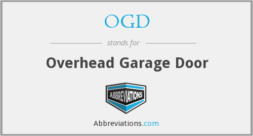 OGD - Overhead Garage Door