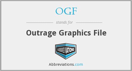 OGF - Outrage Graphics File