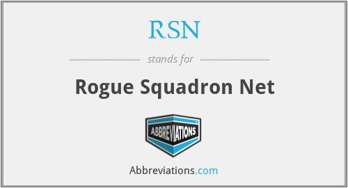 RSN - Rogue Squadron Net