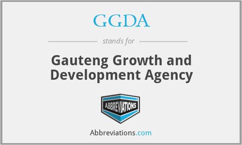 GGDA - Gauteng Growth and Development Agency