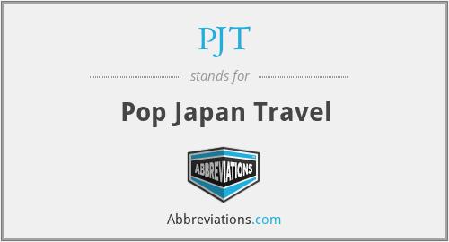 PJT - Pop Japan Travel