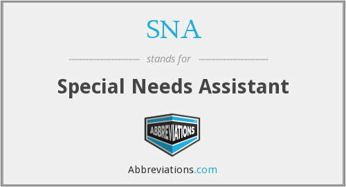 SNA - Special Needs Assistant