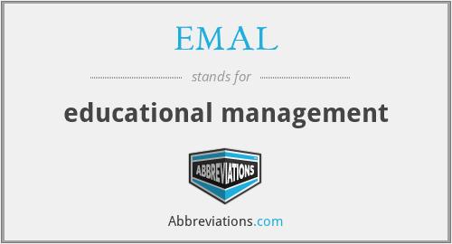 EMAL - educational management