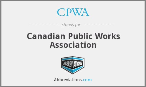 What does CPWA stand for?