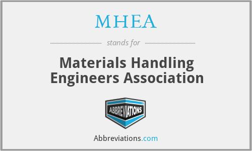 MHEA - Materials Handling Engineers Association