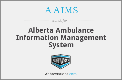 What does AAIMS stand for?