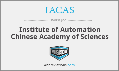 What does IACAS stand for?