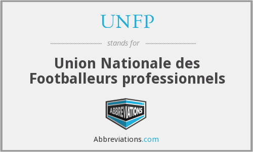 What does UNFP stand for?