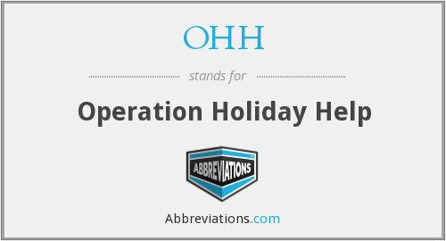 OHH - Operation Holiday Help