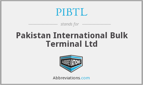 What does PIBTL stand for?