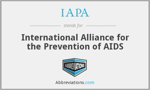 IAPA - International Alliance for the Prevention of AIDS
