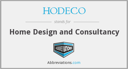 What does HODECO stand for?