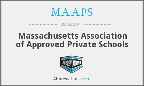 What does MAAPS stand for?