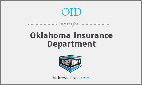 OID - Oklahoma Insurance Department