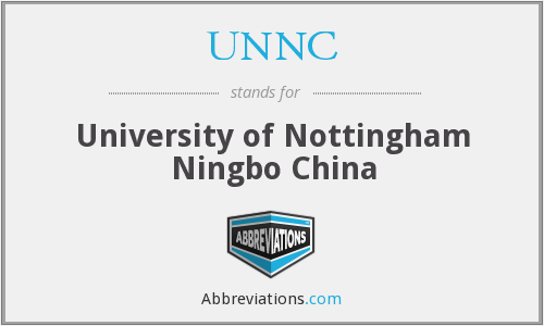 What does UNNC stand for?