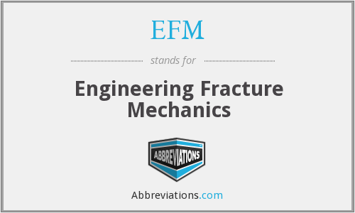 EFM - Engineering Fracture Mechanics
