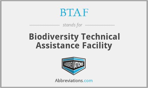 BTAF - Biodiversity Technical Assistance Facility