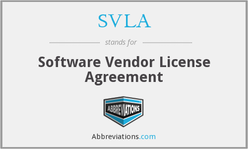What does SVLA stand for?