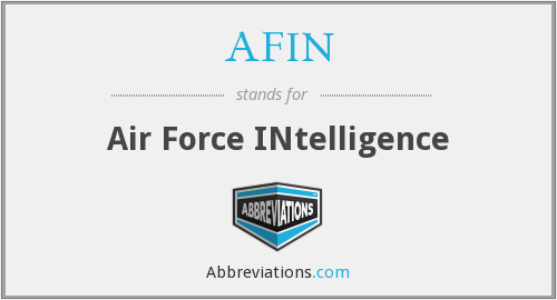 What does AFIN stand for?