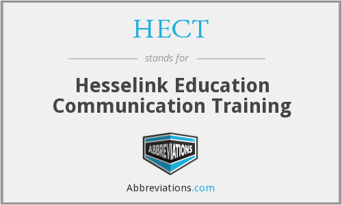 What does HECT stand for?