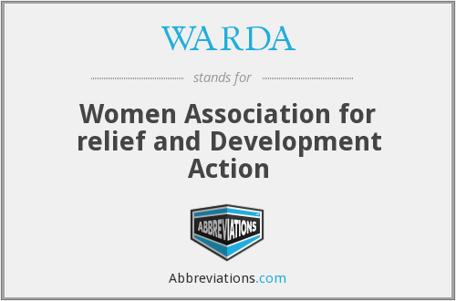 What does WARDA stand for?