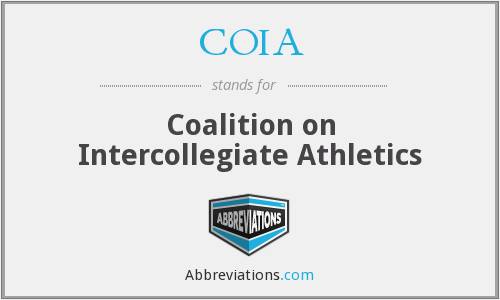 What does COIA stand for?
