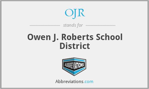 Ojr Owen J Roberts School District