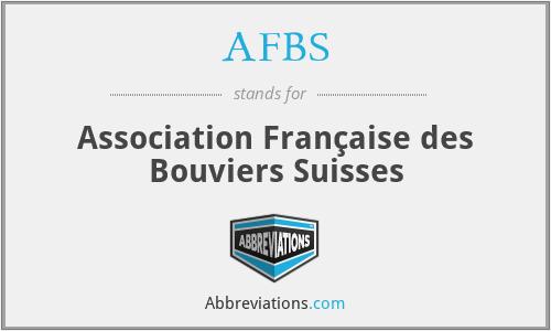 AFBS - Association Française des Bouviers Suisses