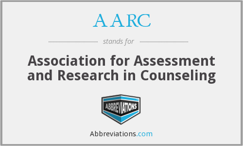 AARC - Association for Assessment and Research in Counseling
