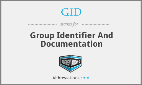 GID - Group Identifier And Documentation