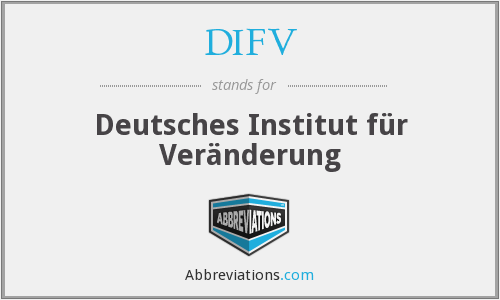 What does DIFV stand for?