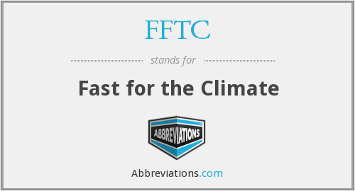 FFTC - Fast for the Climate