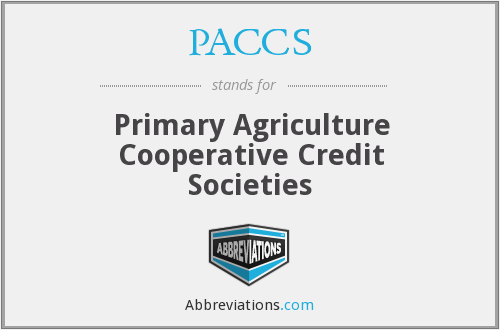 What does PACCS stand for?