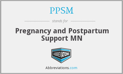 PPSM - Pregnancy and Postpartum Support MN