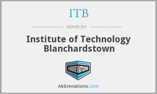 ITB - Institute of Technology Blanchardstown
