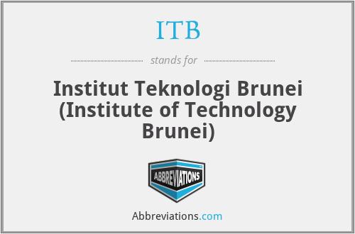 ITB - Institut Teknologi Brunei