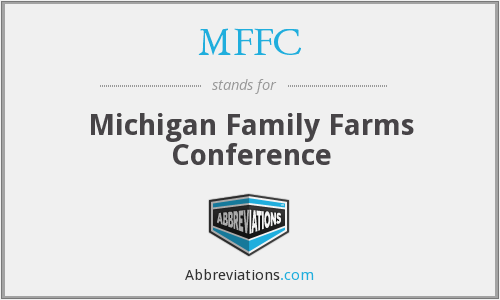 MFFC - Michigan Family Farms Conference