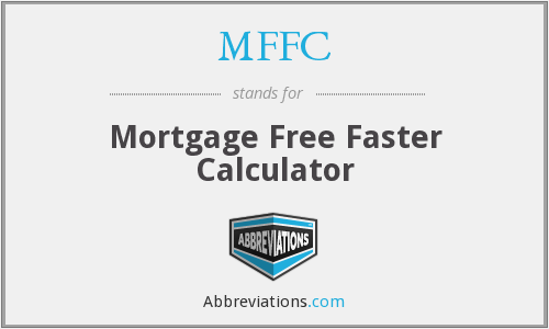 MFFC - Mortgage Free Faster Calculator