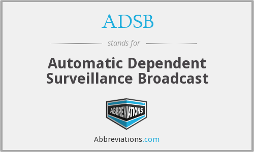 What does ADSB stand for?