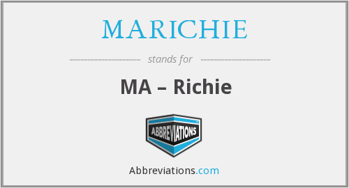 What does MARICHIE stand for?