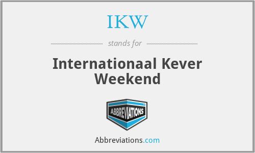 IKW - Internationaal Kever Weekend