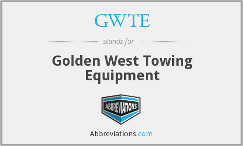 What does GWTE stand for?